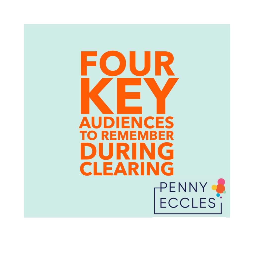 Four key audiences to remember during clearing