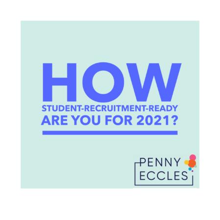 Student recruitment Ready