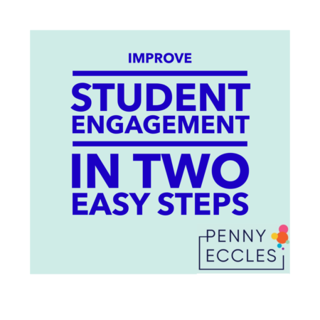 Improve Student Engagement in Two Easy Steps
